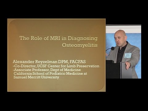 The Role of MRI in Diagnosing Osteomyelitis