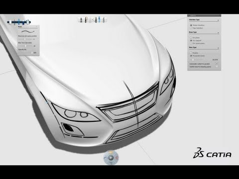 CATIA V6 | Industrial Design | CATIA Natural Sketch Showreel