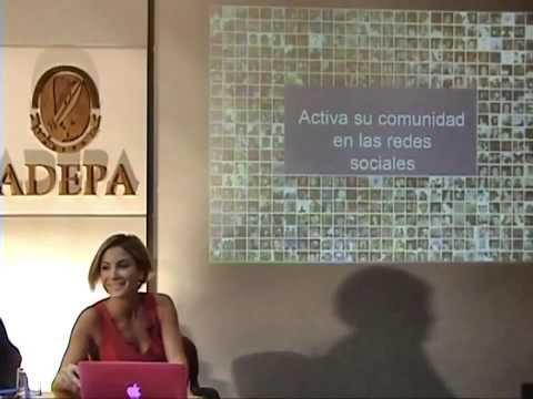 Conferencia sobre Social Media de Silvina Mochini en Argentina.