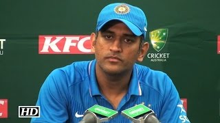 Press Meet : Dhoni on deating Australia 3-0 in T20