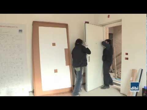 Porte blindate di bi - Montaggio controtelaio porta ...