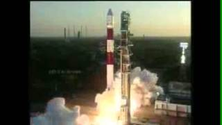 Rocket Launch ISRO PSLV-C20 (25 Feb 2013)