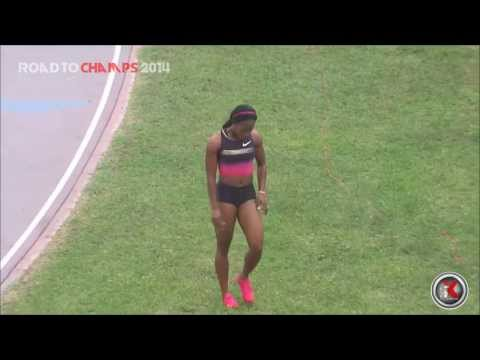 Shelly-Ann Fraser-Pryce anchors MVP to victory in Women 4X100m Relay - 2014 Milo Wester Relays - SX