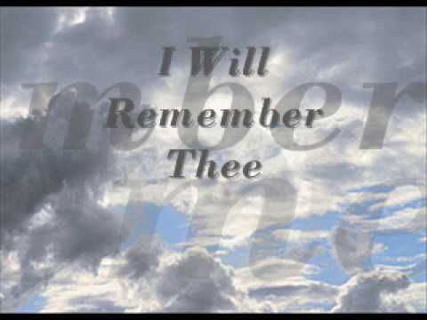 Communion - I Will Remember Thee.wmv