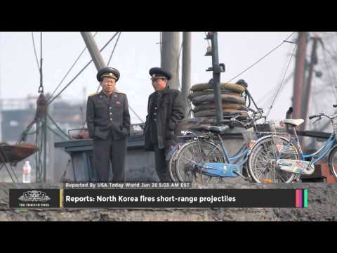 Reports: North Korea Fires Short-range Projectiles - TOI