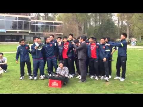 Nghe U19 Việt Nam hát  Anh không đòi quà    Thể thao VietNamNet mp4