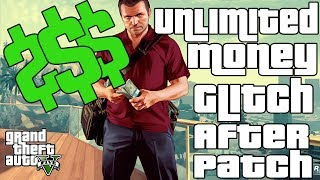 GTA 5 Online: UNLIMITED MONEY GLITCH - [GTA V Glitches] [After Patch] [Easy Method]