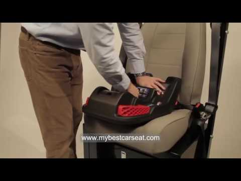 How to Install Infant Car Seat Properly (Britax B-Safe Installation)