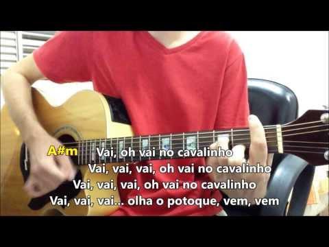 Vai no cavalinho - Gasparzinho -- Violão Instrumental (com solo, letra e cifra)
