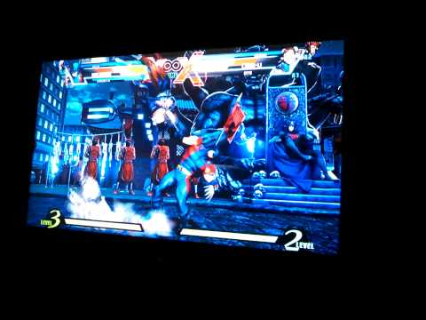 Marvel Vs Capcom 3 dickstomping