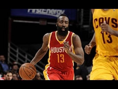 James Harden Lights Up Cleveland for 37 Points