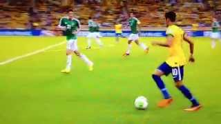 Fantastische assist Neymar