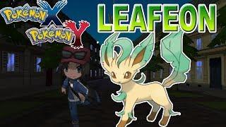 Pokémon X Y : Como Evoluir Eevee Para Leafeon