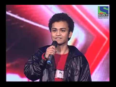 Dipankar's Funny Performance on Bheege Honth Tere - X Factor India - Episode 5 -  2nd June 2011