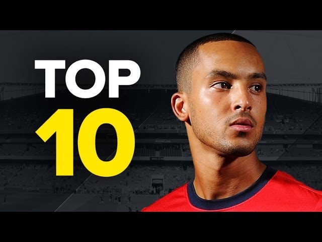 Top 10 Fastest Footballers - Walcott, Bale and Rooney?!