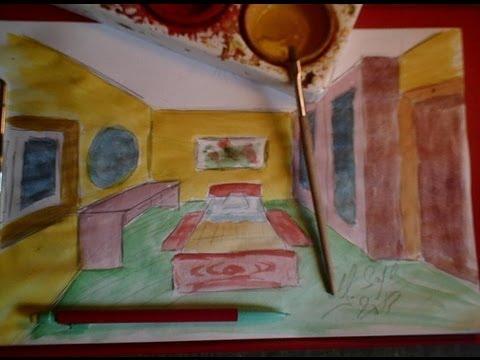 Dessiner en perspective 16 20 une chambre en 3d pas pas page de yannick sayer beebac - Chambre en perspective facile ...