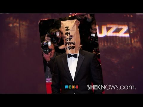 Shia Labeouf Wears a Paper Bag to Movie Premiere - The Buzz