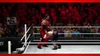 Kevin Nash (Outsiders) WWE 2K14 Entrance And Finisher