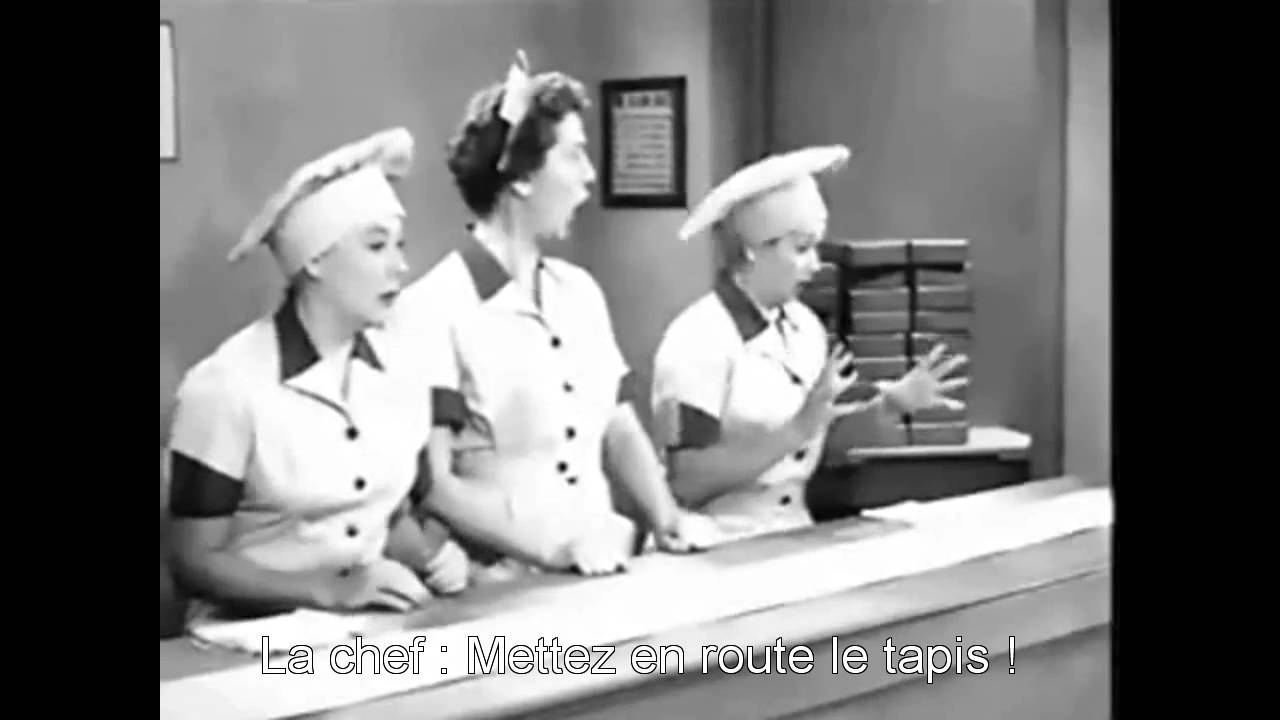 I Love Lucy Candy Factory Vostfr Youtube