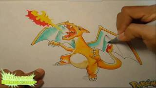 How To Draw Charizard [Pokemon]