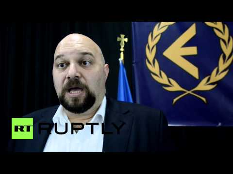 Greece: Golden Dawn MP says Maidan manipulated by the US