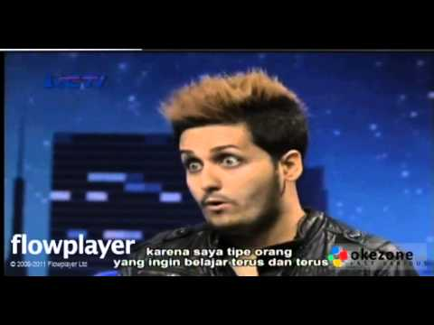 Bule Itali Ikut Audisi Indonesian Idol 2014