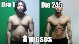 Recomposicion corporal Agresiva: Transformación física Día a día, Semana a Semana por 8 Meses