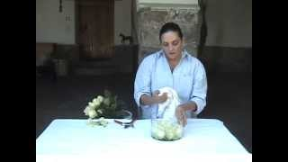 Cooking | cómo hacer un arreglo rosas en una base de c | cA³mo hacer un arreglo rosas en una base de c