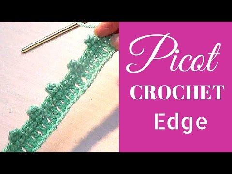 Crochet Picot Edging - Crochet Edges