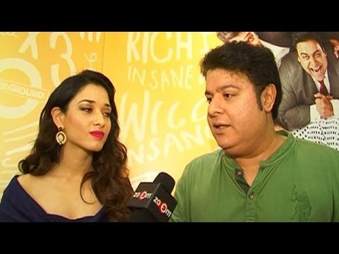Sajid Khan & Tamannaah Bhatia's EXCLUSIVE Interview