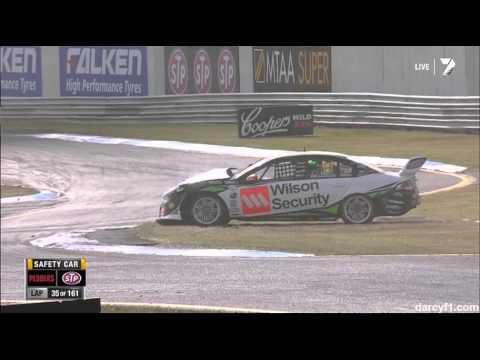 Walsh Big Crash @ 2013 V8 Supercars Sandown 500