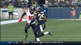 DeAndre Hopkins & Will Fuller vs Richard Sherman (2017) | WR vs CB Matchup