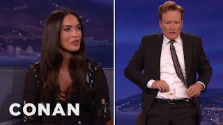 Megan Fox Tries To Open Conan's Sexual Chakra  - CONAN on TBS