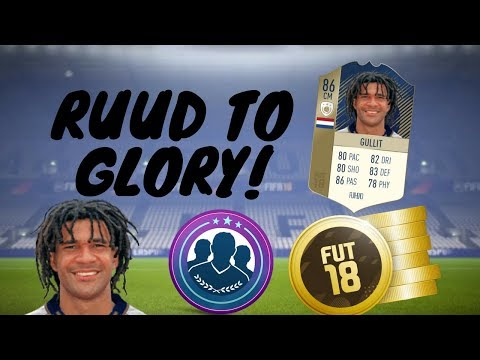 Fifa 18 Ruud To Glory#38 Fut Draft Completing League Sbcs