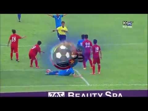 Highlight U19 Việt Nam thắng U21 Singapore sau loạt luân lưu cân não