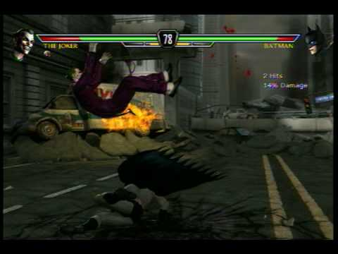 Batman Vs The Joker: Mortal Kombat Vs DC xbox 360.