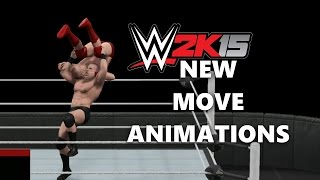 WWE 2K15 Next Gen New Animations!!