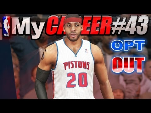 NBA 2K14 MyCareer Playoffs - I HAVE 2 DO WORK / LeBron & Melo Opt Out?
