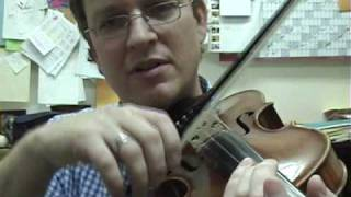 Violin Lesson #29; Bouncing Strokes (spiccato bowing)
