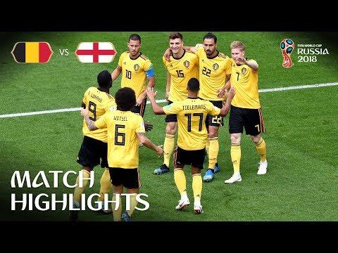 Belgium v England - 2:0