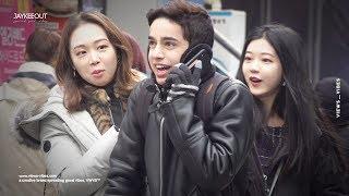 🗣 foreigner pranking koreans in perfect korean 2 (french ver.) | pranks