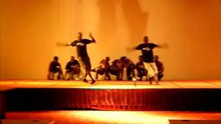 Dance Together Uganda performing at Hotel Africana in Kampala