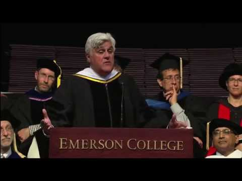 Jay Leno at Emerson Commencement 2014