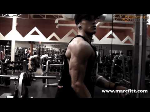 Shredded Triceps workout-marcfitt.com