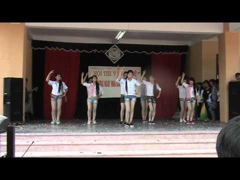 Tiết mục nhảy của em học sinh QX3 nhân ngày 20.11