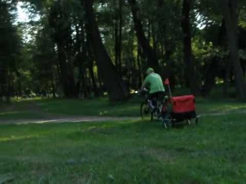C-leg na rowerze