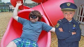 SKETCHY MECHANIC FALLS IN POOL hilarious kids video