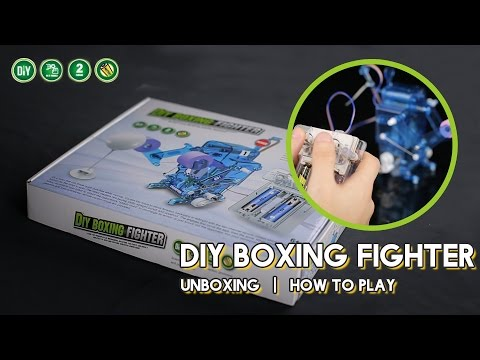 DIY004 FIGHTER BATTLE ARENA- DIY BOXING