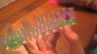 Beginner How To Make A Fishtail Rubber Band Bracelet Easy
