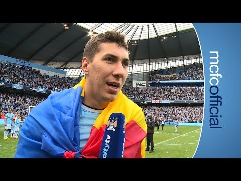 COSTEL PANTILIMON ON TITLE | City v West Ham Champions 2014